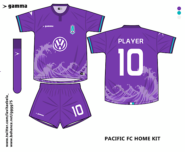 pacific fc home kit