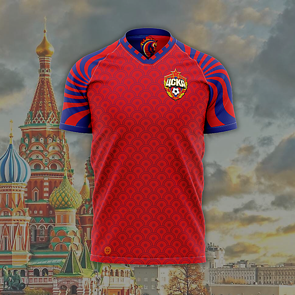 PFC CSKA Moscow Home Jersey Concept