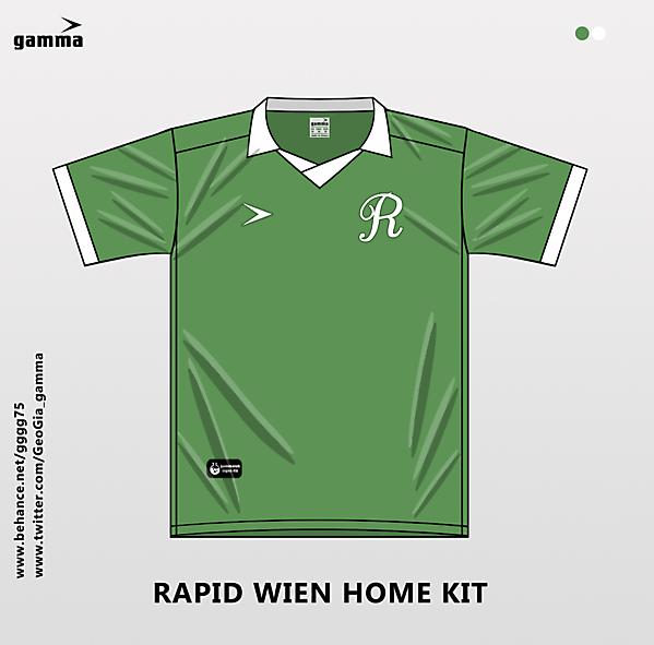 rapid wien home kit