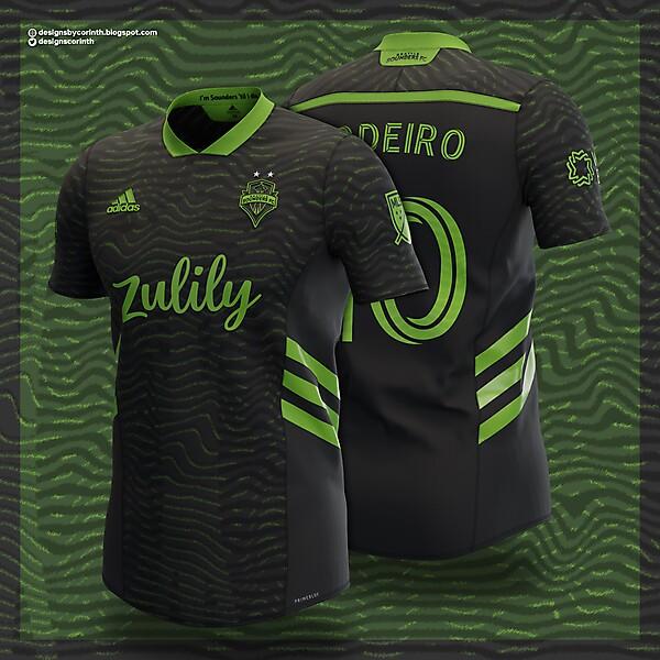 Seattle Sounders   Away Shirt