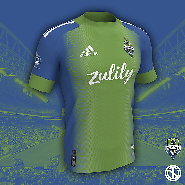 Seattle Sounders | Home Kit Concept
