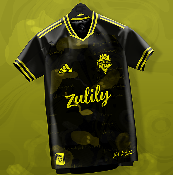 Seattle Sounders Nirvana Away Kit