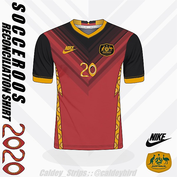 #Socceroos Reconciliation Shirt 2020