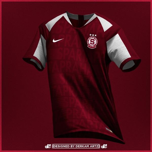Sparta Praha/Prague - Third Kit (inspired by 1996-97))