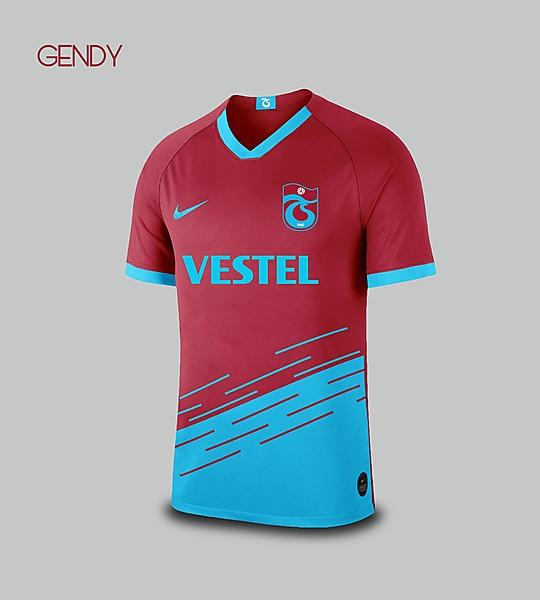 Trabzonspor - Nike Home Kit