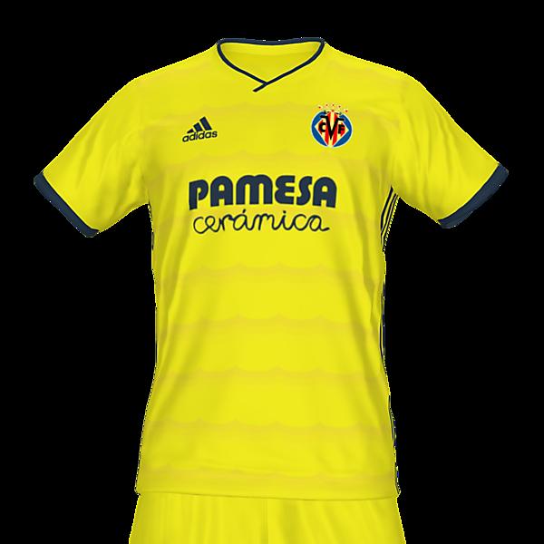 Villarreal home kit by @feliplayzz
