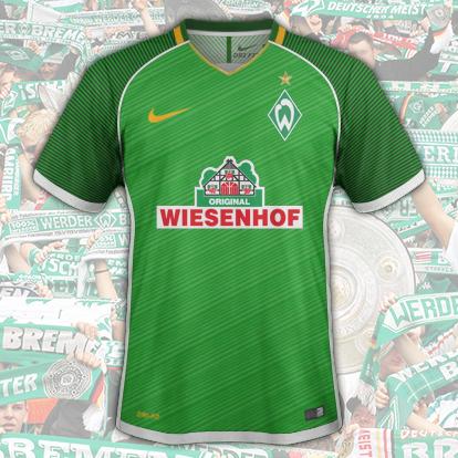 Werder Bremen Home 2017-2018