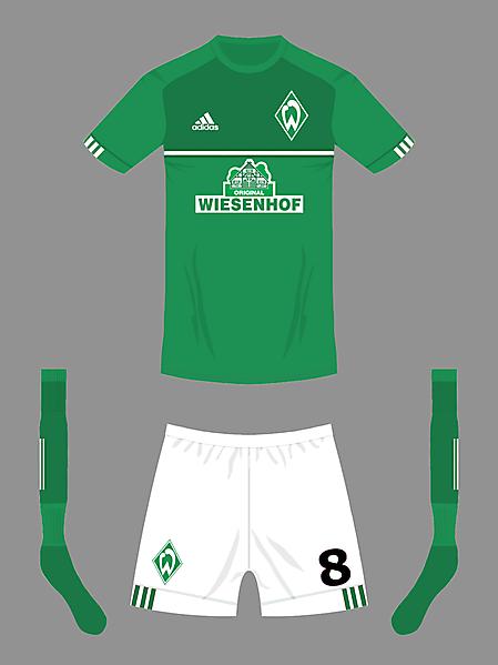 Werder Bremen home kit