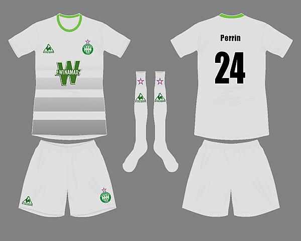 St Etienne Away kit
