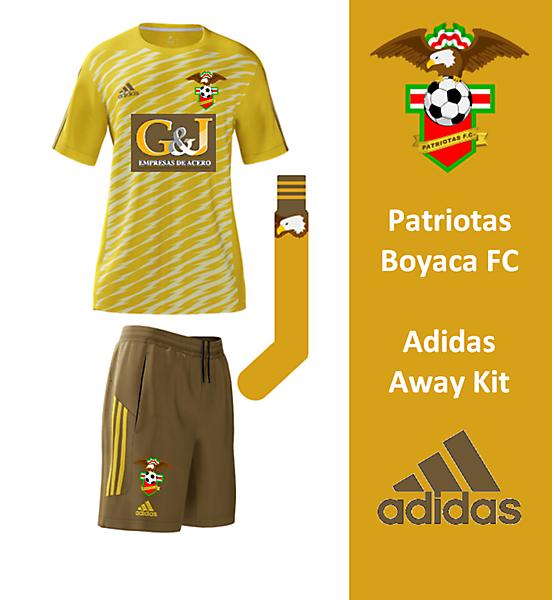 Patriotas Boyaco FC - Adidas Away Kit