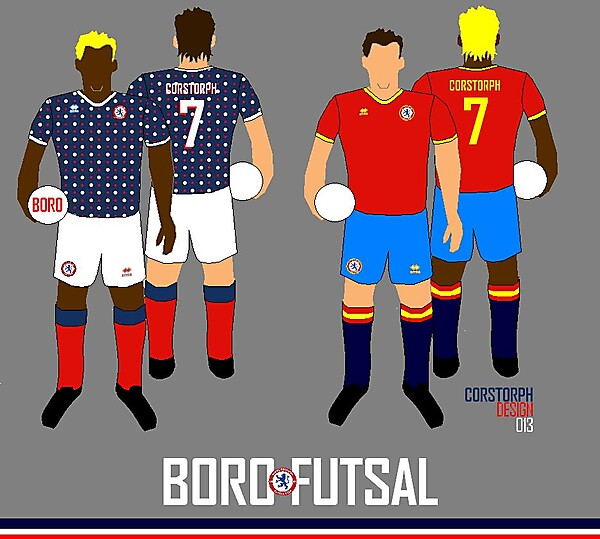 Boro Futsal Home and Away