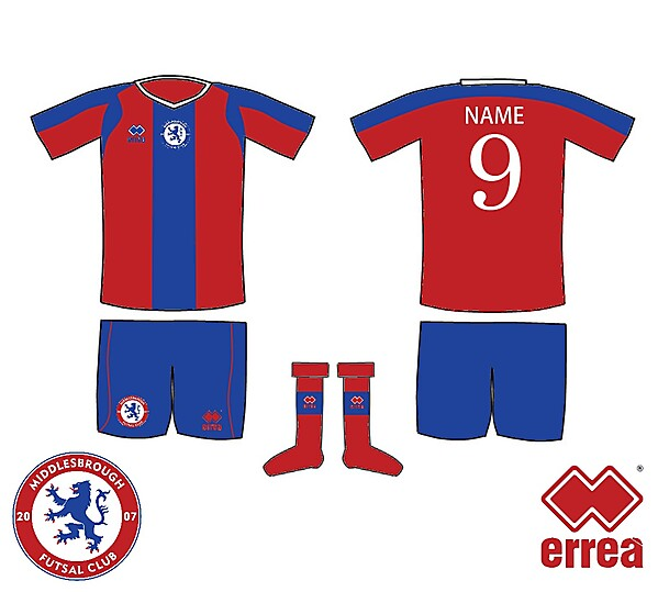 Middlesbrough Futsal Kit 2