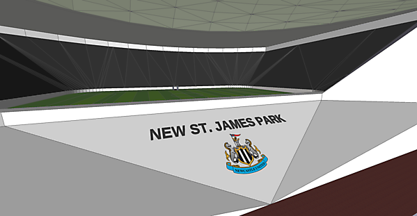 New St. James Park (Opened wing)