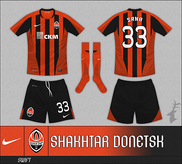 Nike Swift Striped - Shakhtar Donetsk