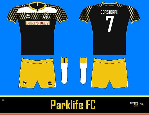 Parklife Home Kit Corstorph Design Sport