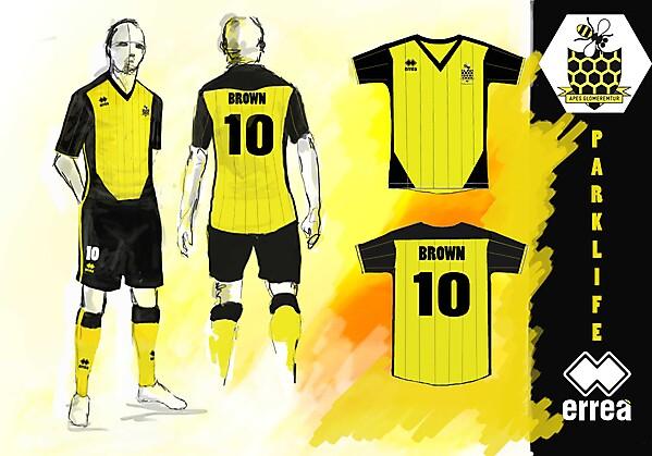 Parklife FC Kit Design