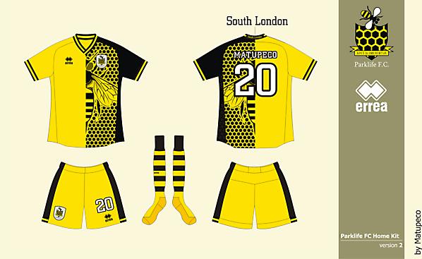 Parklife FC home kit version 02