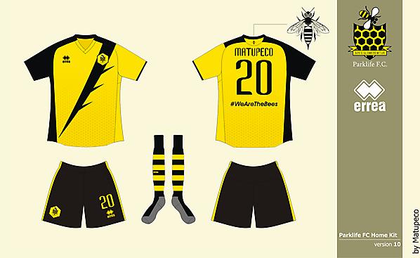 Parklife FC home kit version 10