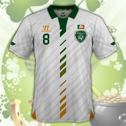 Ireland Away Kit v2