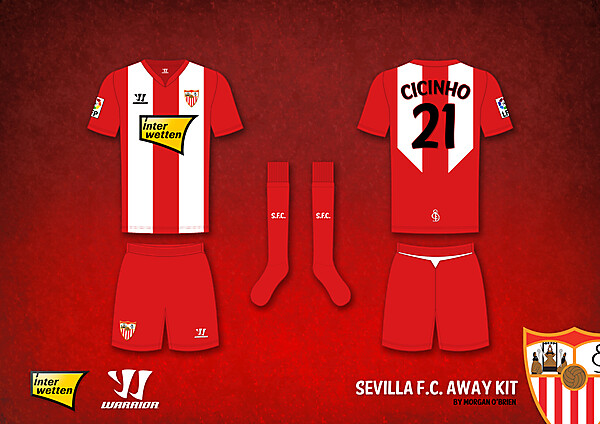 Sevilla F.C. Away Kit by Morgan O\'Brien