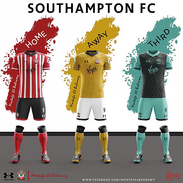 Southampton Fantasy Under Armour Kits (2016-2017) ..