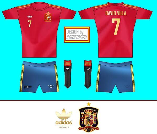 adidas ORIGINALS Spain Home Kit