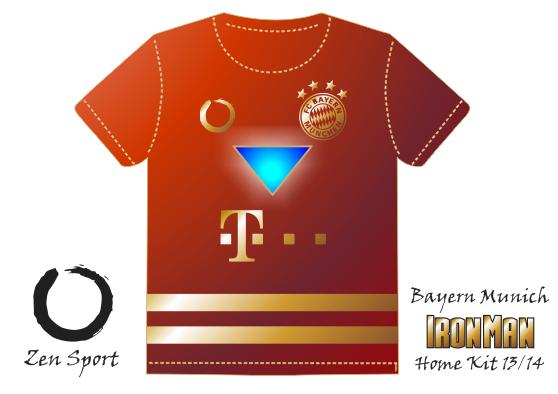 FC Bayern Munich Home Kit (Iron Man)
