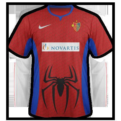 FC Basel - Spiderman Inspired