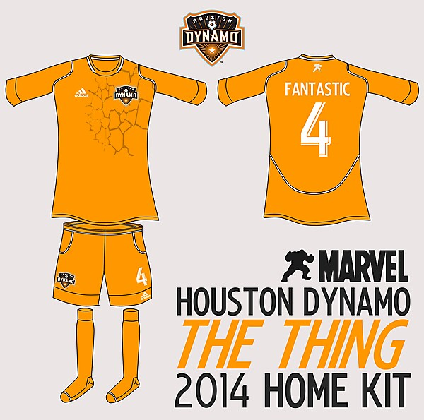 Houston Dynamo The Thing Home Kit