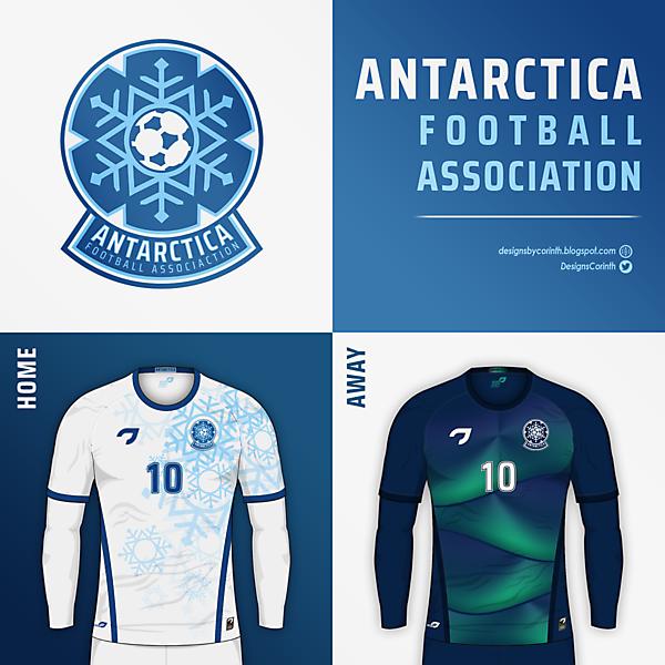 Antarctica F.A.   Crest and Jerseys