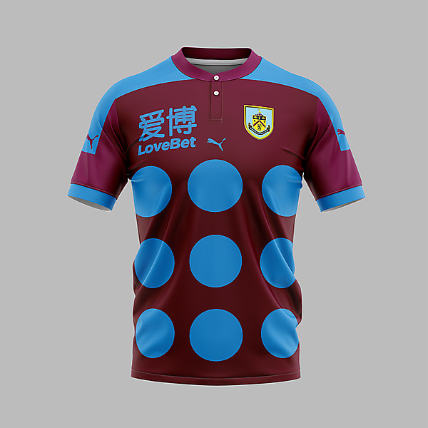 Burnley FC x jockey style shirt
