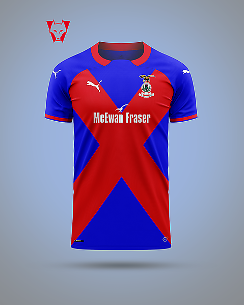 Inverness Caledonian Thistle - Saltire Laird