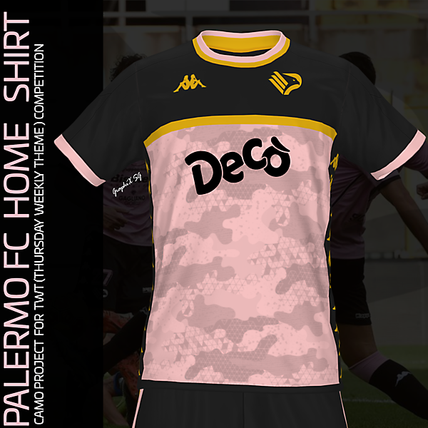 Palermo FC camo concept