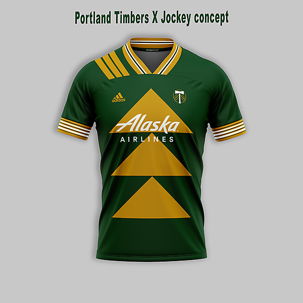 Portland Tibers x Jockey style shirt