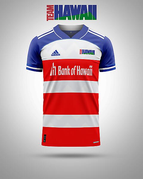 Team Hawaii-change shirt concept