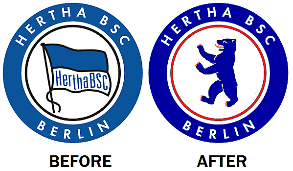 New Hertha Berlin Crest