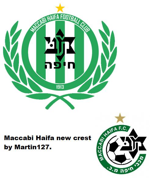 Maccabi Haifa FC New Crest