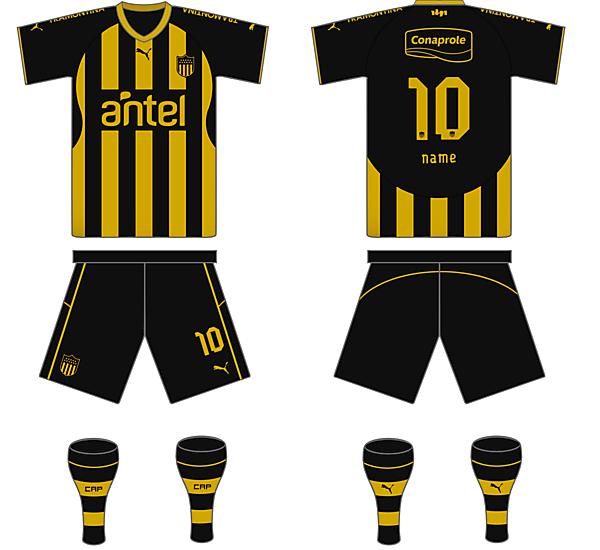Peñarol Home Kit