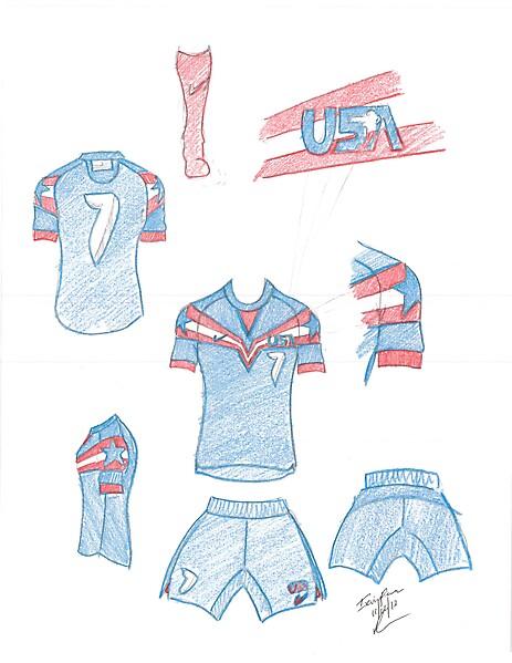 USA futsal away