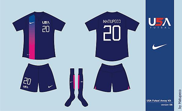 USA Futsal Away Version 06