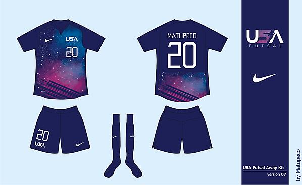 USA Futsal Away Version 07