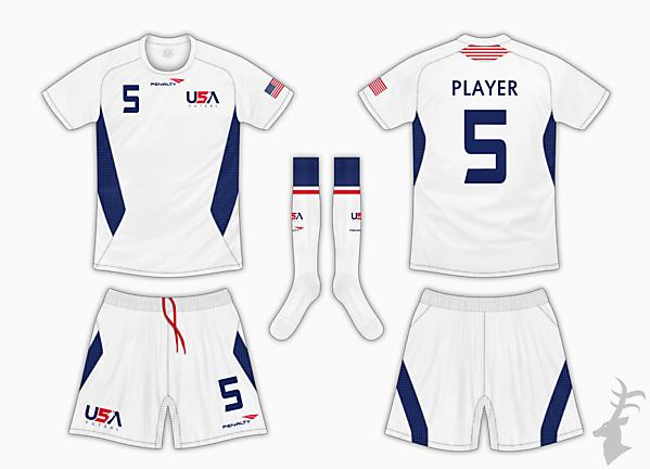USA Futsal Home Kit 1 - Penalty