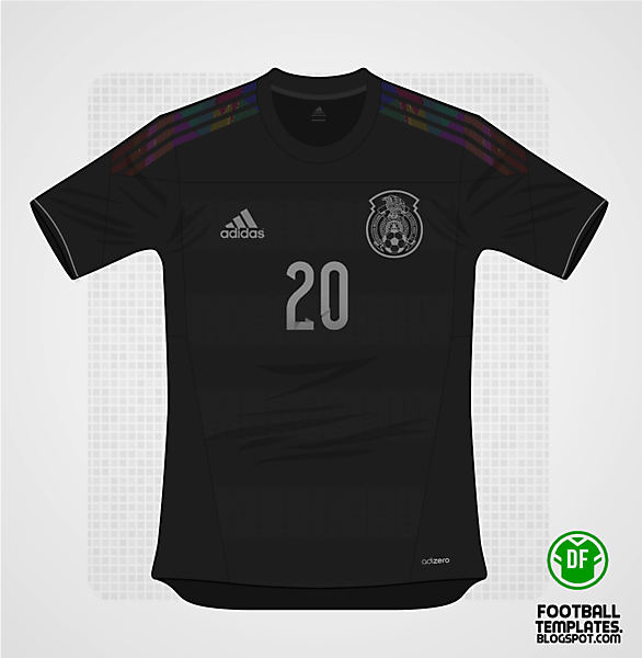 2014 Adidas Mexico Away Kit