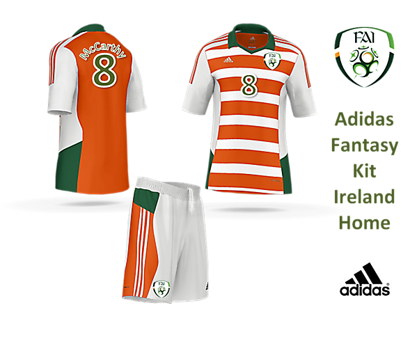 Adidas Fantasy Kit - Ireland Away