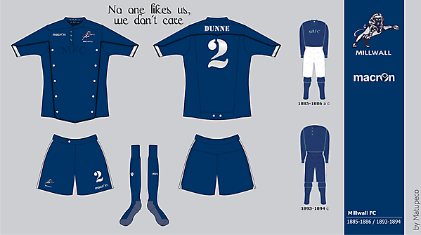 Millwall FC 1885-1886 / 1893-1894