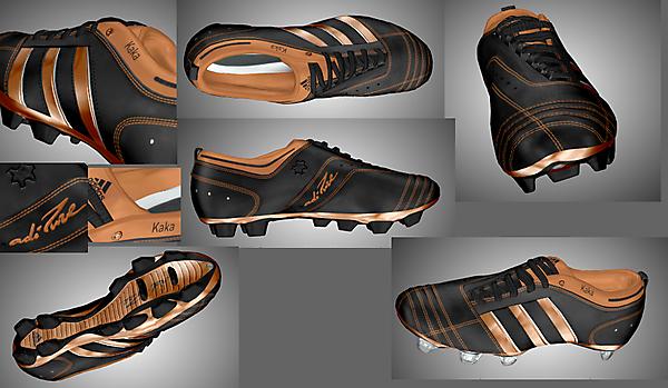 Adidas Adipure II Kaka Black/Bronze