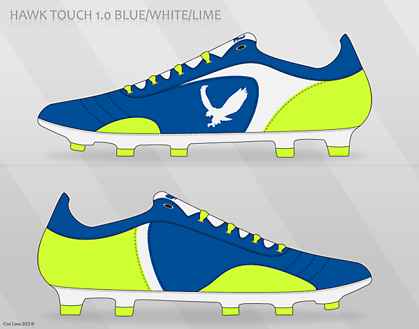 Hawk Touch 1.0 Blue/White/Lime