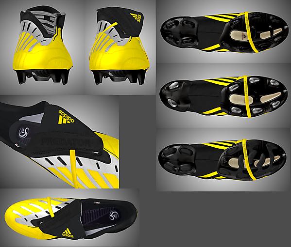 Adidas Predator Sunshine/Black