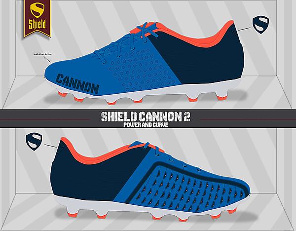 Shield Cannon 2 (Powerful shot)