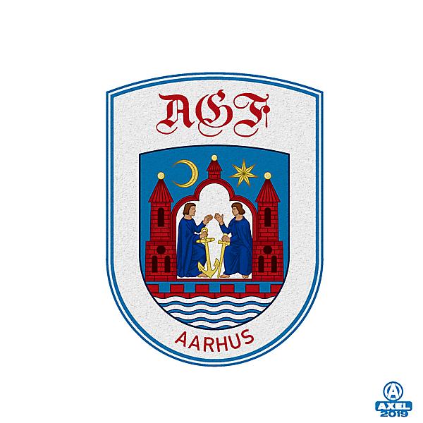 AGF AARHUS - crest redesign